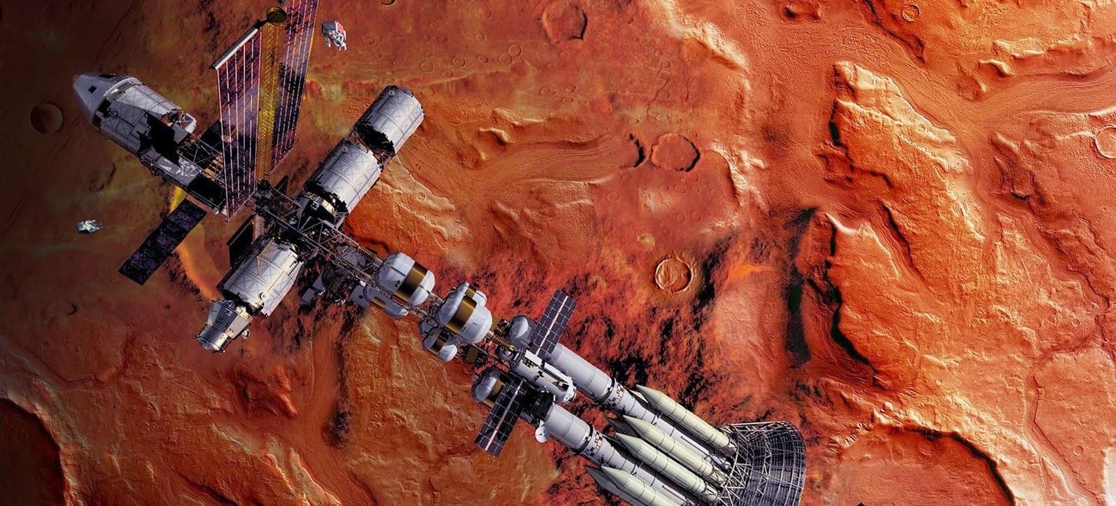 In Mars orbit by deckard01 (2013)